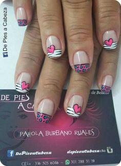 Hair And Nails, Nail Designs, Hair Beauty, Nail Art, Color, Ideas, Gorgeous Nails, Vestidos, Polish Nails