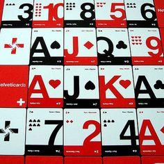 Helveticards.  For the Helvetica lover.