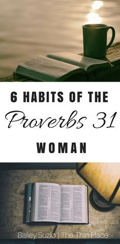 I am a big believer in starting your morning with intentionality.So here are 6 ways to start your morning with Proverbs 31 intentionality.
