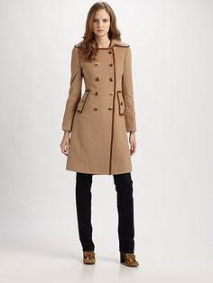 Tory Burch - Blaney Wool Coat $597