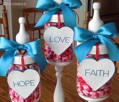 Valentine's Apothecary Jars