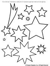Solar system color sheet for prek Kindergarten Arts and Crafts