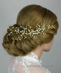 Braut haarschmuck mit perlen  Braut Haarschmuck, Tiara, Perlen Diadem | Braut haarschmuck ...