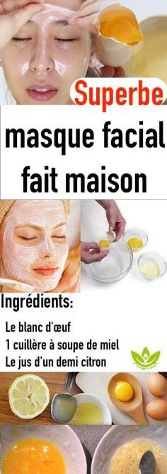 Superbe masque facial fait maison Homemade Facial Mask, Facial Masks, Beauty Care, Health And Beauty, I Am Awesome, Skin Care, Fruit, Face, Physique