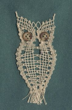 Bobbin Lacemaking, Lace Heart, Lace Jewelry, Lace Making, New Pins, String Art, Lace Detail, Dream Catcher, Owl
