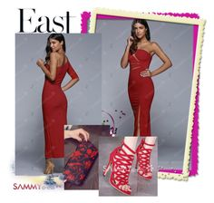 """""""Sammy Dress 56/60"""" by almin-sturm ❤ liked on Polyvore featuring women, sammydress and fashionset"""
