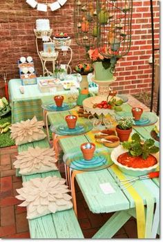 Beatrix Potter Easter fun Cute Table Set up