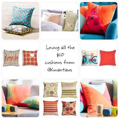 """""""Who else here are loving the $10 @kmartaus #cushions ? If you have already got some and want to share a photo you can by using #kmartausshare. #kmartaus…"""" Kmart Decor, By Using, Create Space, Home Reno, Home Bedroom, Cushions, Nursery, Homes, Throw Pillows"""