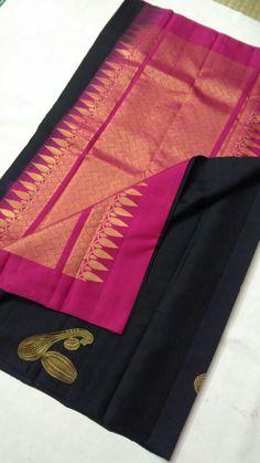 #ClassySarees Saree Blouse Patterns, Saree Blouse Designs, Sarees For Girls, Silk Saree Kanchipuram, Wedding Saree Collection, Modern Saree, Churidar Designs, Indian Fashion Trends, Wedding Silk Saree