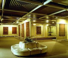 Carpet Museum founded in 1976 exhibits a variety of Persian carpets