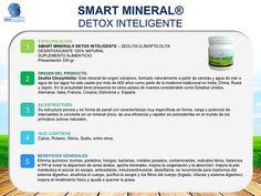 SMART MINERAL® DETOX INTELIGENTE #Salud #Detox #Bienestar #Desintoxicacion #SaludInteligenteOficial #Alcalinidad #Oxigenacion #Desintoxicante #DetoxInteligente #Health #Antioxidante #Inmunoestimulante #Saludable #VidaSaludable #Healthy #Natural #SmartMineral #EquilibrapH #BeSmart #SuplementoAlimenticio #Supplement #Sinquimicos #Elfuturoesahora #SmartTrends #Zeolita #Clinoptilolita #Desinflama #Purifica #Eliminatoxinas #Eliminametalespesados