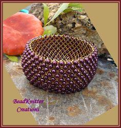 Bead Knitter Gallery: My Pulsera Capricho