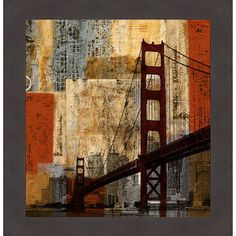 'Bay Bridge' by Katrina Craven is an abstract still life featuring the marvelous…