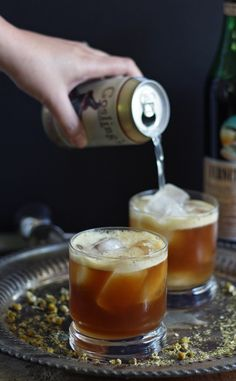Looking for a new Fernet Braca cocktail? Try this Orange Italian Mule – an easy cocktail with an herbal variation on the moscow mule!   honeyandbirch.com