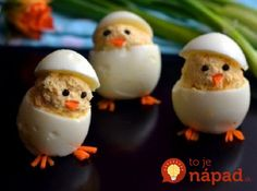 Naučte sa tento vajíčkový trik a môžete ich podávať aj na slávnostnom stole! Easter Recipes, Baby Food Recipes, Holiday Recipes, Romanian Food, Pasta, Egg Designs, Cheesy Recipes, Hungarian Recipes, Easter Dinner