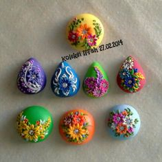 polymer clay pendants                                                                                                                                                                                 Mehr