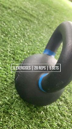 Kettlebell Workout Routines, Kettlebell Workouts For Women, Kettlebell Training, Tabata, Cardio, Gym Workout For Beginners, Fitness Workout For Women, Fitness Goals, Workout Videos
