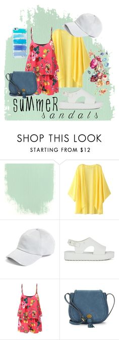 """summer sandals"" by kitryst ❤ liked on Polyvore featuring rag & bone, Melissa, LE3NO, Nanette Lepore, Kate Spade and summersandals"