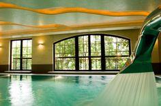 Basen z kaskadą. #HotelElbrus #Szczyrk  www.hotel-elbrus.pl