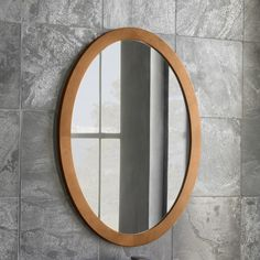 Found it at Wayfair - Oval Wall Mirror