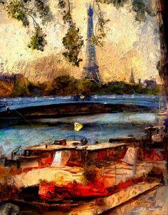 Paris 2012 Digital Art, Corel Painter, Painter, Painting, Art, Impressionist, Digital Artist, Portrait, Medium Art