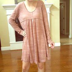 BRAND NEW stone knit tunic dress Brand new stone knit tunic dress Tops Tunics