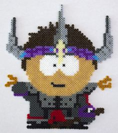 Clyde Warrior (Fortress) - South Park Stick of Truth - Hama / Perler bead