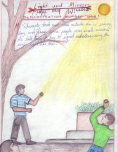 Waldorf ~ 6th grade ~ Physics: Light ~ main lesson book