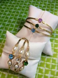 Love the emerald Ronaldo bracelets! Puppy Love or Star of Hope