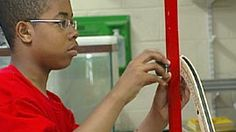 In this video from Teaching High School Physical Science, teacher Michael Griffin introduces an inquiry-based activity about centripetal force and kinetic and potential energy and interacts with his students as they work on the activity. A student describes how the lesson helps him visualize the physics concepts related to roller coasters.