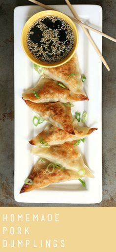 Pork Dumplings | Recipe