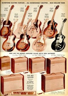 Silvertone Guitars - Sears Catalog
