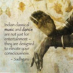 Indian classical music and dance...