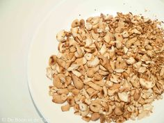 recept geroosterde pompoen vega noten roosteren  Dit en nog veel meer op moestuinblog de Boon in de Tuin   http://deboon.blogspot.nl