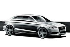 2012 Audi A3 Design Sketch