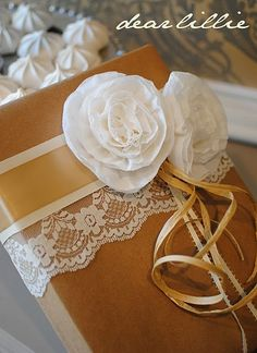 beautiful way to wrap presents