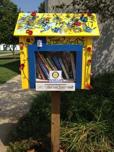 Walter Denton. O'Fallon, IL. This is the first Little Free Library sponsored by the Rotary Club of O'Fallon. The Club plans to sponsor additional Little Free Libraries throughout O'Fallon. Literacy and community building are primary focus areas for Rotary Clubs around the world.