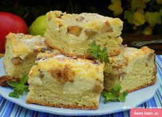 drożdżowe z serem i jabłkami