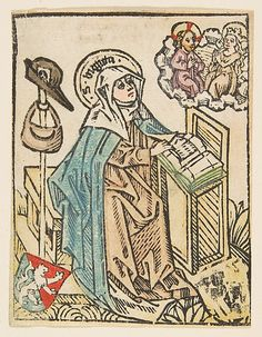 St. Bridget (Schr. 1307a)  Anonymous, German, 15th century