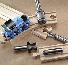MLCS train track router bits and link to track tutorial: