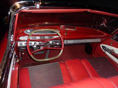 1960 Plymouth Fury Dash