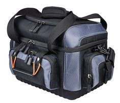 A great gift for fishing enthusiasts, this stylish fishing bag neatly stores all equipment within its utility boxes, zipped compartments and smaller pockets .  http://www.clasohlson.com/uk/Gavia-Fishing-Tackle-Bag/31-5319