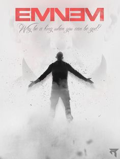 "Eminem ""Why be a king when you can be a God"" There's nothing to add... #BestRapperAlive #1"