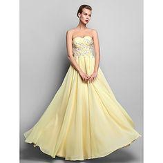 kılıf / sütun sevgilisi zemin uzunlukta şifon akşam / balo elbisesi (663692) – USD $ 98.99