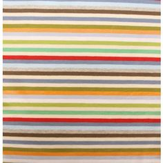 Cotton Jersey Striped Multi B 95% cotton 5% elastane 160cm wide 220g £20/m