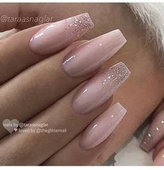 Ballerina Nail Art Tips Transparent/Natural False Coffin Nails Art Tips Flat Shape Full Cover Manicure Fake Nail Tips art pink Ballerina Nail Art Transparent/Natural False Coffin Nails Trendy Nails, Cute Nails, Nail Art Transparent, Milky Nails, Best Acrylic Nails, Acrylic Nails Coffin Glitter, Coffin Nails Glitter, Wedding Acrylic Nails, Coffin Shape Nails
