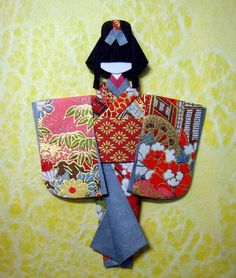 https://flic.kr/p/6TJSHd | Hand-made Japanese paper doll for Maggz | The doll I…