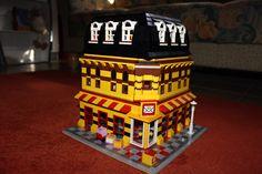 Lego Post als Modul Haus