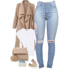A fashion look from November 2015 featuring Tory Burch sneakers, Givenchy handbags and Jacquie Aiche necklaces. Browse and shop related looks.