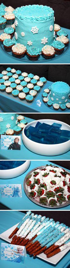 Frozen Party - Dessert Table